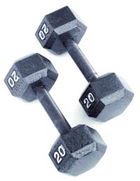 Hex Head Dumbbells